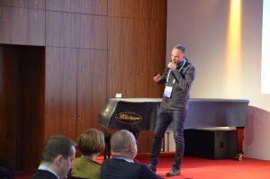 Dirk Neubauer, Bürgermeister der Stadt Augustusburg, beim ITF18